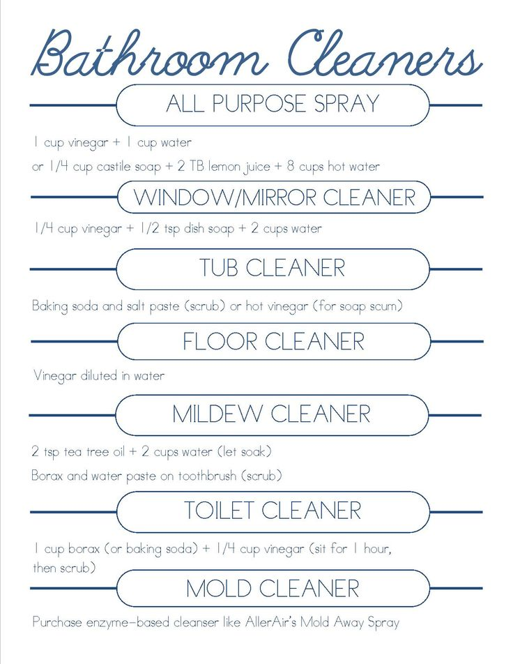 DIY bathroom cleaners....I'd have to say....I ACTUALLY do these 'diy' things....most home cleaners smell yucky. :/