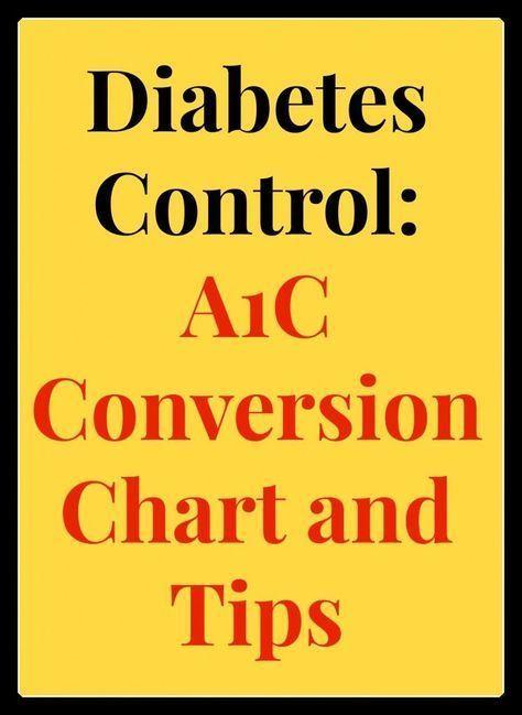 Diabetes Control A1c Conversion Chart Tips Help With Diabetes