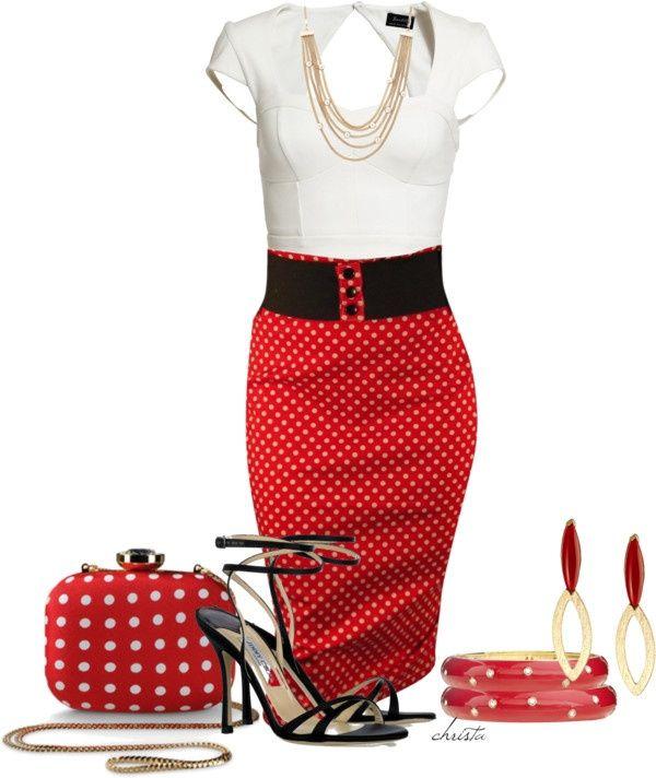 Polka dots!! LOLO Moda: Classy fashion for women