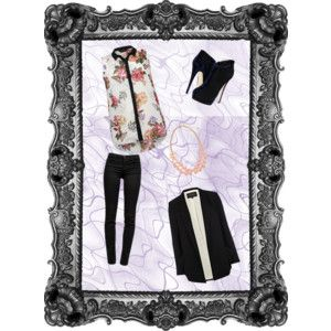 """""""Untitled #217"""" by catalinagarnet on Polyvore"""