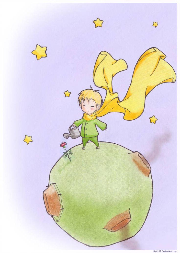 Картинки к рассказу маленький принц экзюпери