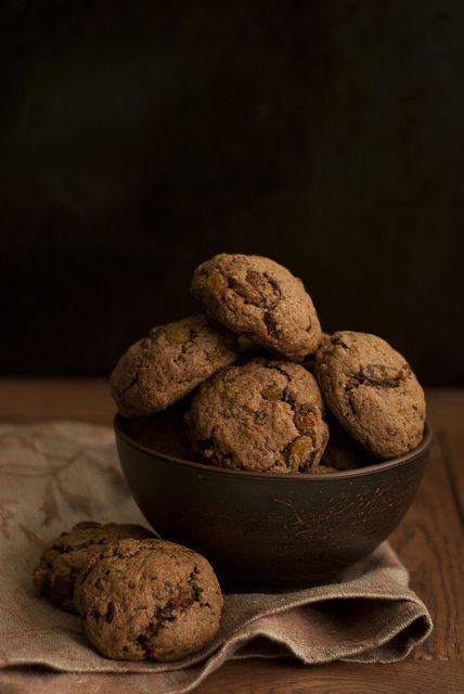 Шоколадное печенье со специями