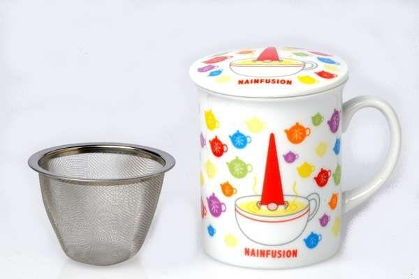 Mug avec filtre nain connu cette tasse est livr e avec un filtre en inox id - Tasse tisane avec filtre ...