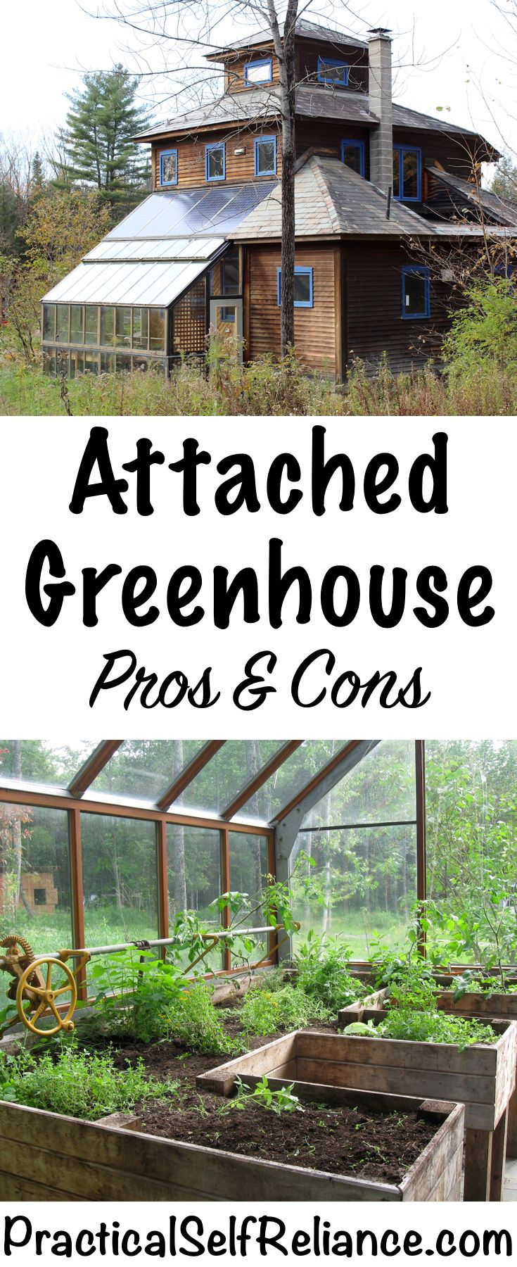 Attached Greenhouse: Pros and Cons | Habitation | Jardin ...