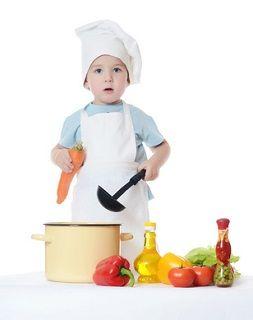 Peuter en voeding - Koken voor mijn peuter