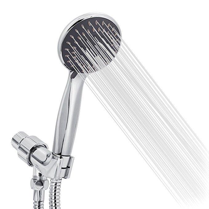 Handheld Shower Head High Pressure 5 Spray Settings Massage Spa