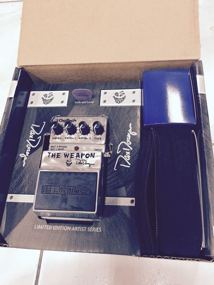 Digitech The Weapon X-Series Dan Donegan Signature Pedal NEW #DigiTech
