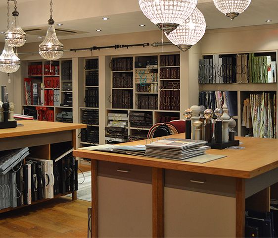 Part of our spacious interior design department at the Harrogate store