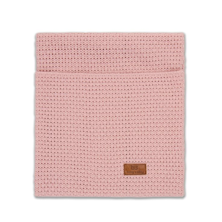 Baby's Only wiegdeken uni korrel stoer baby roze uit de online shop van Babyaccessoires.eu. In allerlei kleuren.