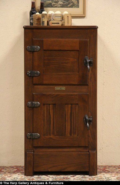 86 Best Images About Antique Ice Boxes On Pinterest Erin