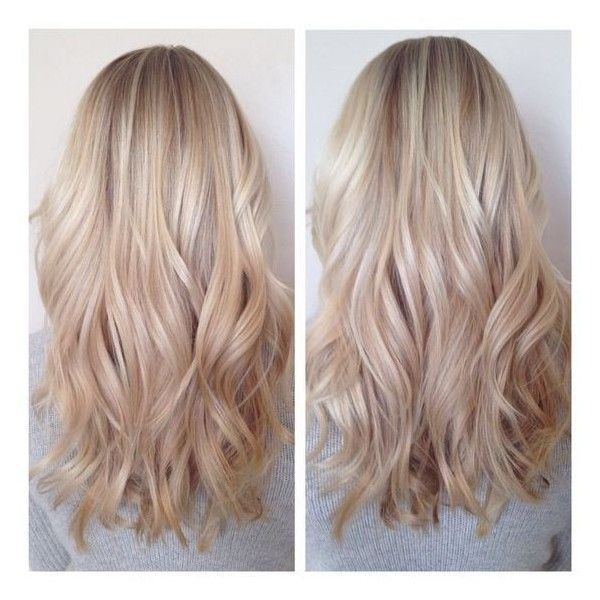 white honey hair ❤ liked on Polyvore featuring beauty products and haircare