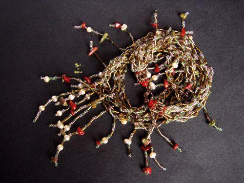náhrdelník Zapletené perly