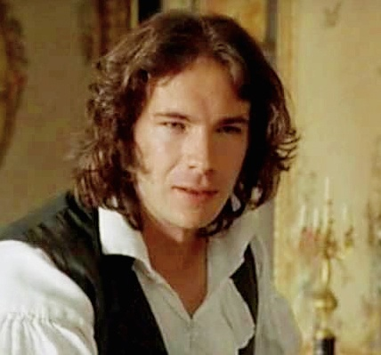 James D'Arcy as Tom Bertram, the high-living future baronet of Mansfield Park. Spirited, fun-loving, sociable, cheerful and good company. Disappears for horseracing, hunting, theatre, drinking wine and exciting city life. Not into weddings so much.. Responds well to leeches.
