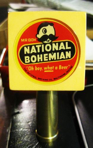Vintage National Bohemian Beer Tap Knob with Mr boh Baltimore MD | eBay
