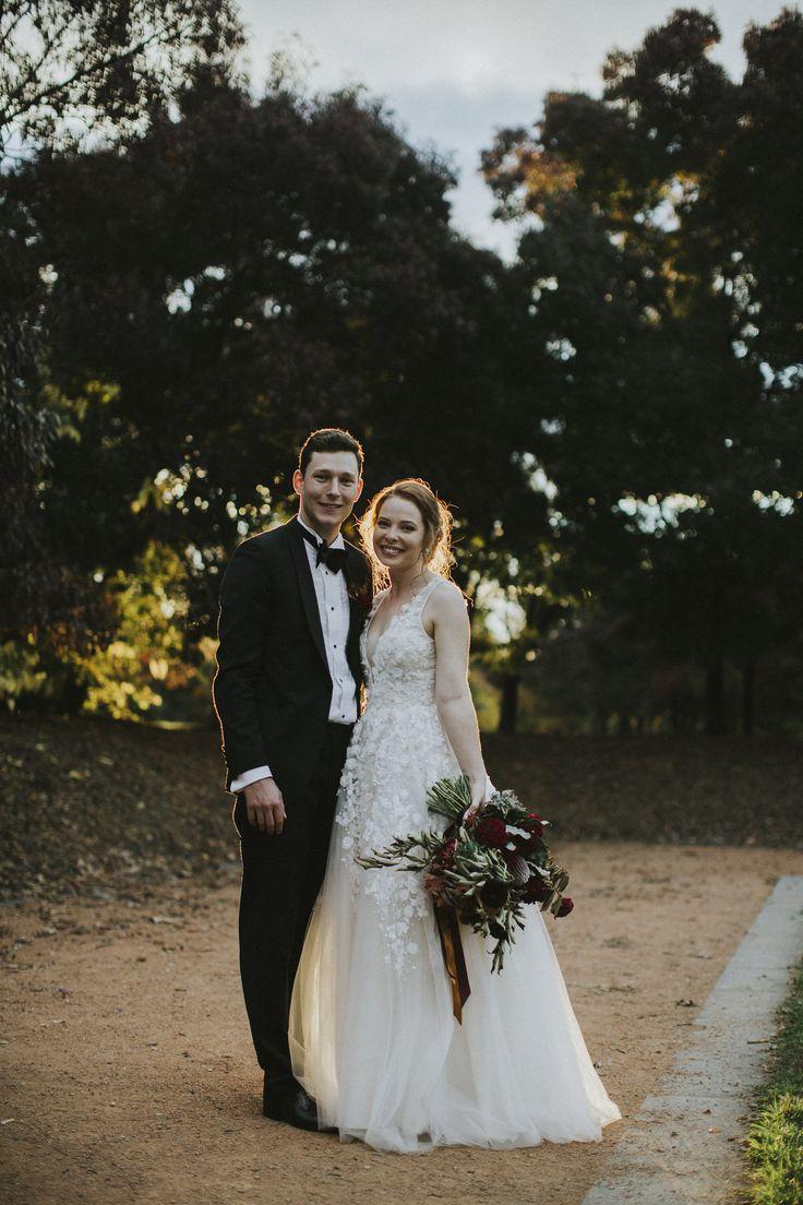 Elegant Autumnal Gallery Wedding In Canberra - Polka Dot Bride | Photo by All Grown Up Weddings http://www.allgrownupweddings.com.au/