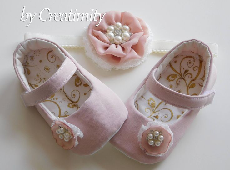 Baby shoes, flower girl shoes, christening shoes, baptism shoes, ballet shoes, bridal flats, wedding shoes, crib shoes, baby shower by CreatimityElegance on Etsy