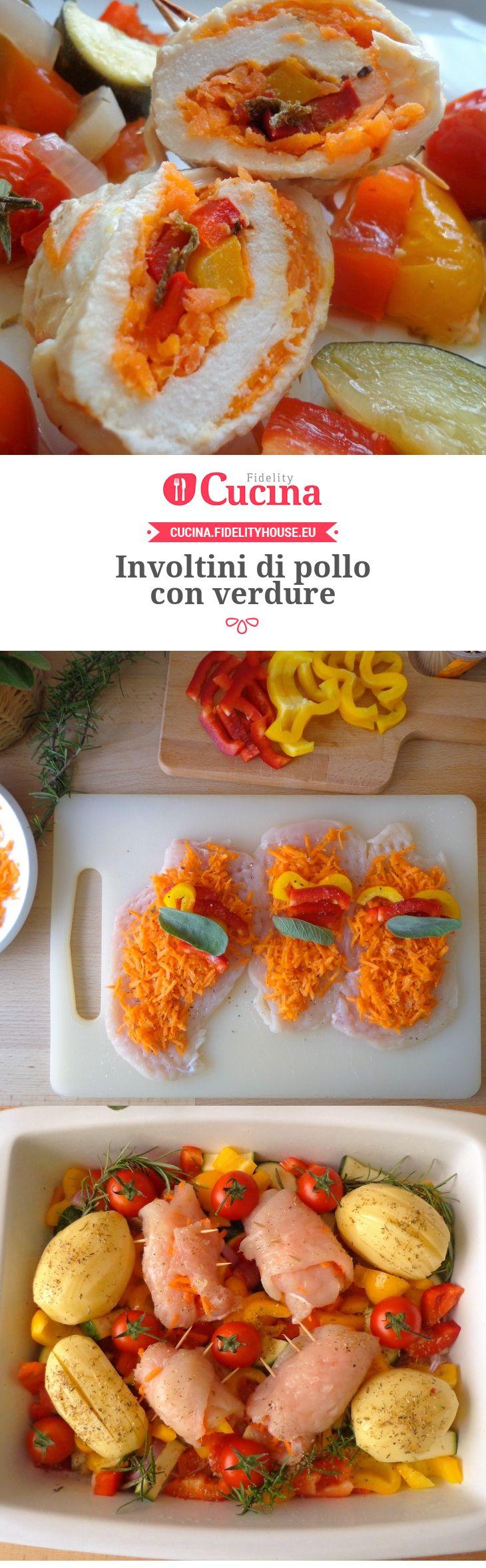Involtini di pollo con verdure