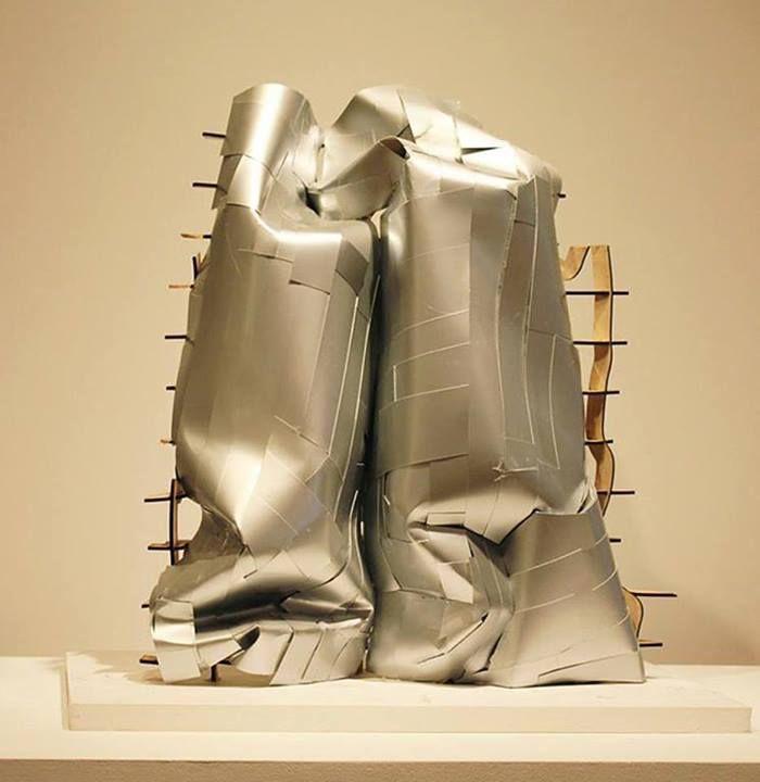 archimodels:  © frank gehry + lesly feely fine art (model photo) - sonderborg kunsthalle - new york, USA - 2010