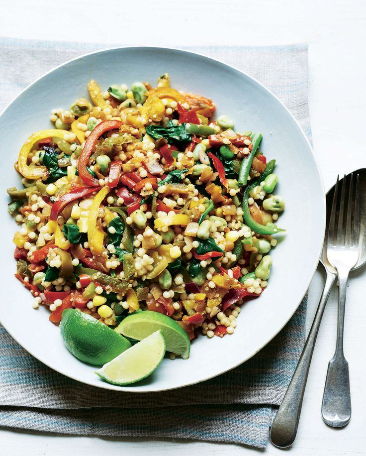 Giant Cous Cous, Quinoa & Mixed Peppers Salad | Asda Good Living