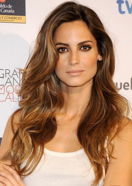 Bayalage highlights on brown hair. Can't get enough