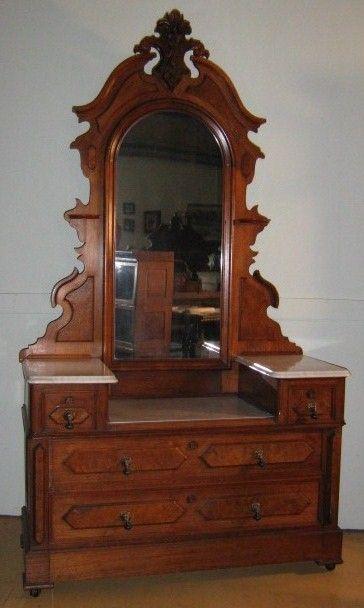 21 best victorian dressers images on pinterest mallard victorian furniture and antiques. Black Bedroom Furniture Sets. Home Design Ideas