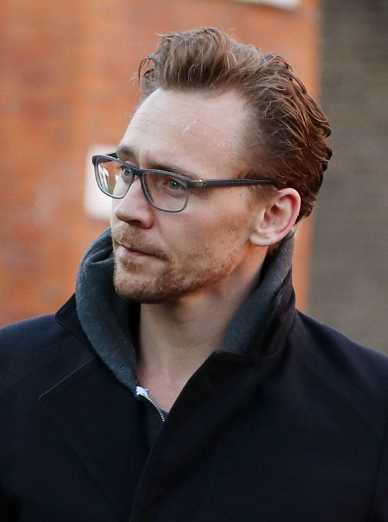 Tom Hiddleston with facial hair (can't call it a beard- it's patchy lol)!!! I just can't right now