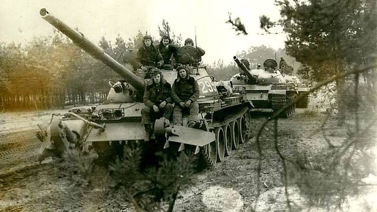 Soviet army in Germany.
