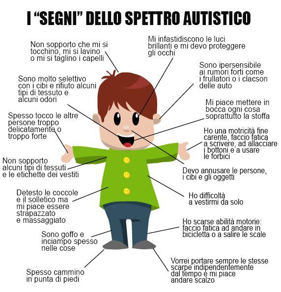 I principali segni di un disturbo dello spettro autistico