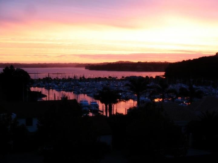 Sunset at Gulf Harbour