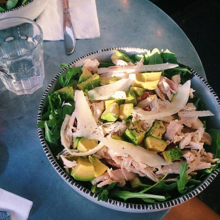 Chicken avokado avocado cheese turkey salad sallad kalkon kyckling ost