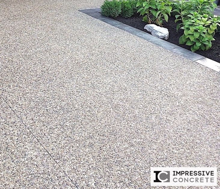 37 Best Exposed Aggregate Patio Walkway And Driveway