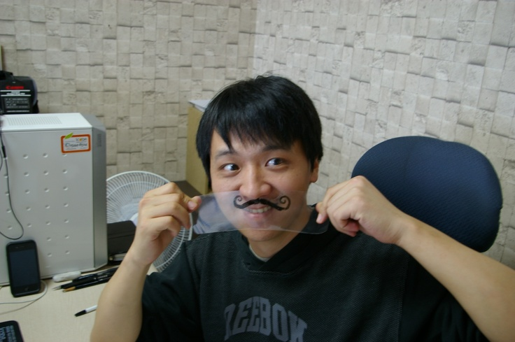 mockup - Mustache Mania book http://www.argo9.com/archives/1787