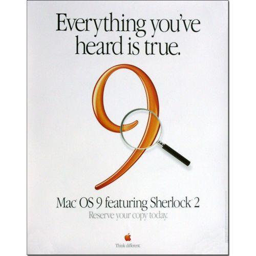 Mac OS 9 Poster