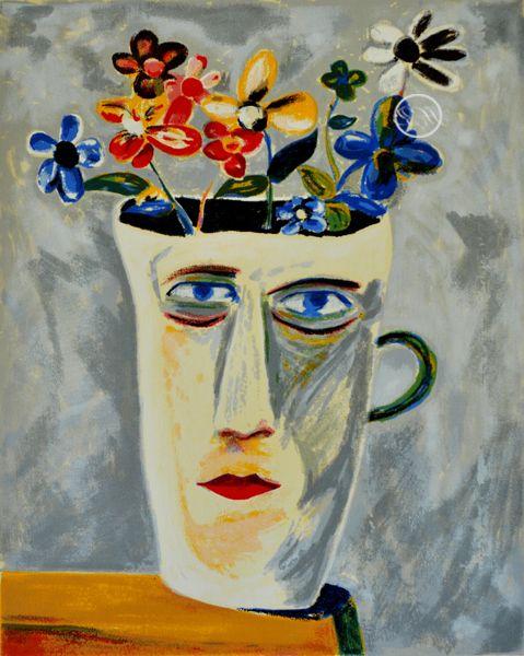 Charles Blackman ~ Alice's Jug, 2001
