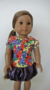 free sewing patterns for the American Girl doll