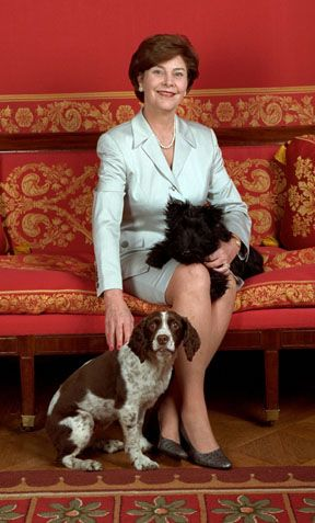 "..Laura Bush..so very ""classy"".."