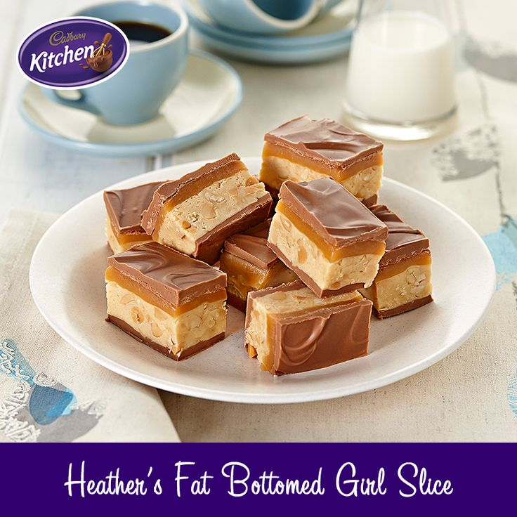 One taste of this #slice and you'll be in heaven! #dessert #chocolate To view the #CADBURY product featured in this recipe visit http://www.cadburykitchen.com.au/products/view/cadbury-melts/
