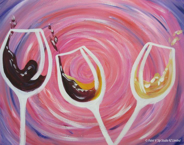 Drinkin wine