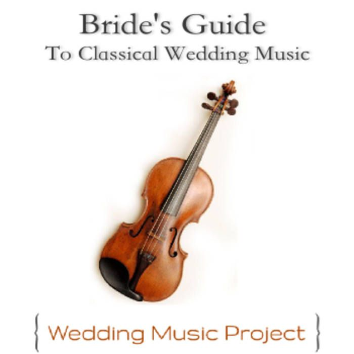 Classical violin wedding