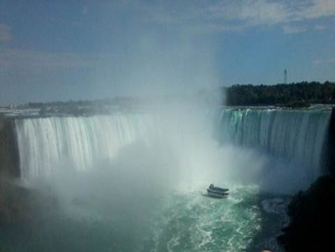 Niagara Falls and Tour Boat