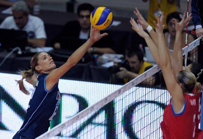 Volleyball is listed (or ranked) 17 on the list Female Sports with the Hottest Athletes