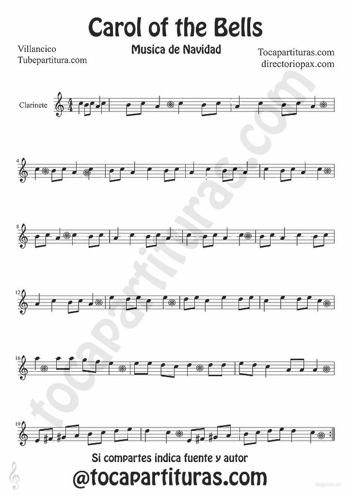 picture about Carol of the Bells Free Printable Sheet Music known as Absolutely free trupet xmas new music