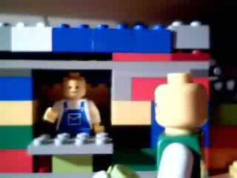 Half man half biscuit 24 hour garage people in Lego