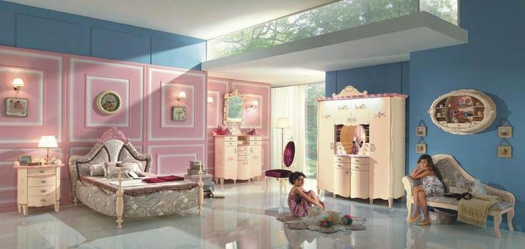 Italian children furniture by Forni Mobili, more at: http://www.saloncardinal.com/galerie-forni-mobili-b02 #Furniture #Children #Forni