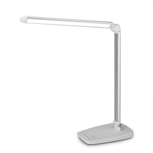 led lampe de bureau yokkao reg max 1000 lumens lampe de table 360 ajustable pliable 7 modes de. Black Bedroom Furniture Sets. Home Design Ideas