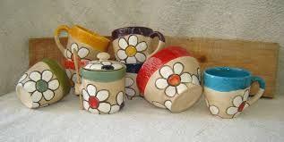 Resultado de imagen para tazas de ceramica rustica