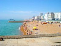 Playa de Brighton Inglaterra