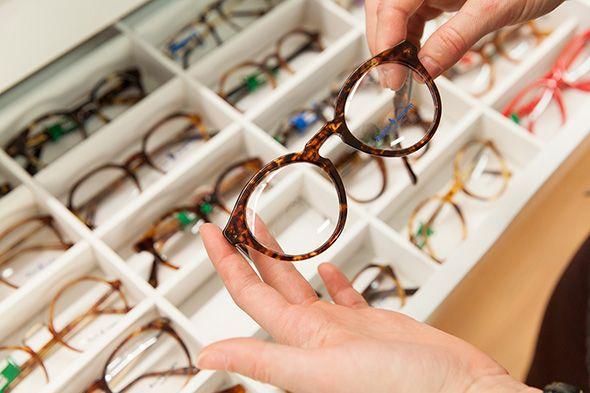 Vintage and contemporary frames at Opticianado