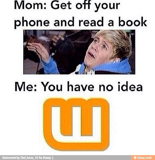 yesss she just has no idea how much I really read..