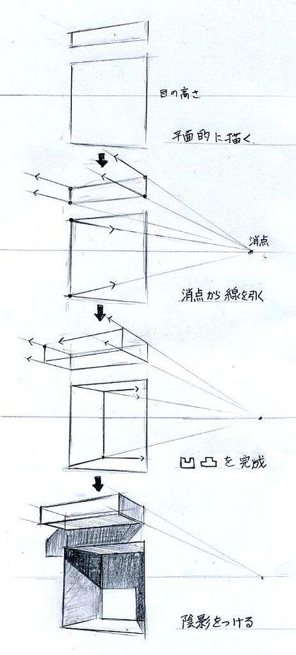die besten 25 perspektivisches zeichnen ideen auf pinterest perspektiven zeichenunterricht. Black Bedroom Furniture Sets. Home Design Ideas